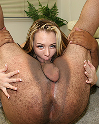 Jeanie Marie Blacks On Blondes Balls In Ass